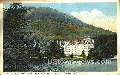 Mt. Abenaki & The Balsams  - Dixville Notch, New Hampshire NH Postcard