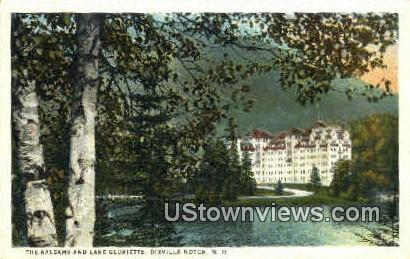 The Balsams & Lake Gloriette - Dixville Notch, New Hampshire NH Postcard