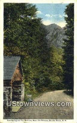 Cold Spring & The Buttress - Dixville Notch, New Hampshire NH Postcard