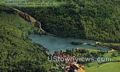 Balsams & Lake Gloriette - Dixville Notch, New Hampshire NH Postcard
