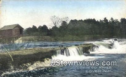 County Farm Dam - Dover, New Hampshire NH Postcard
