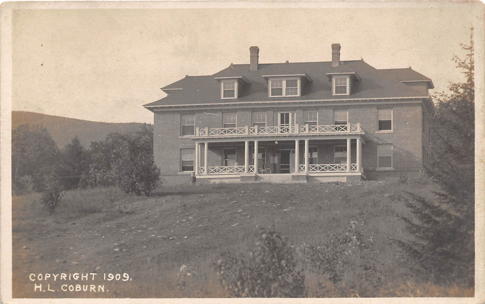 Building - Dartmouth, New Hampshire NH Postcard
