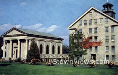 La Salette Seminary - Enfield, New Hampshire NH Postcard