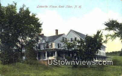 Lakeside House - East Tilton, New Hampshire NH Postcard