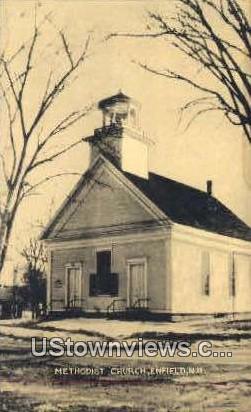 Methodist Church - Enfield, New Hampshire NH Postcard