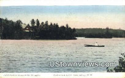 Contoocook Lake - East Jaffrey, New Hampshire NH Postcard