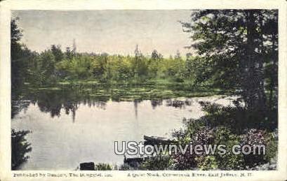 Contoocook River - East Jaffrey, New Hampshire NH Postcard