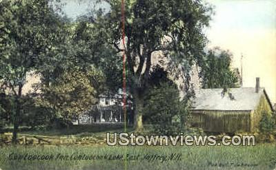 Contoocook Inn - East Jaffrey, New Hampshire NH Postcard