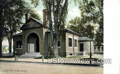 Public Library - Exeter, New Hampshire NH Postcard