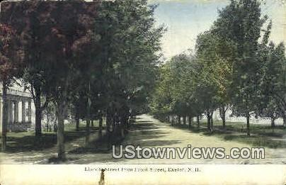 Lincoln St. - Exeter, New Hampshire NH Postcard