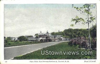 Swasey Parkway - Exeter, New Hampshire NH Postcard
