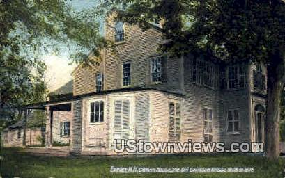 The Old Garrison House - Exeter, New Hampshire NH Postcard