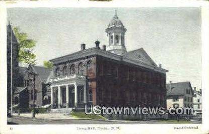 Town Hall - Exeter, New Hampshire NH Postcard