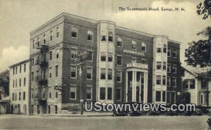 The Squamscott Hotel - Exeter, New Hampshire NH Postcard