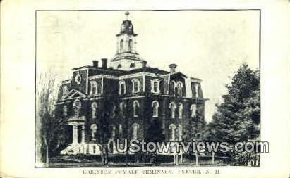 Robinson Female Seminary - Exeter, New Hampshire NH Postcard