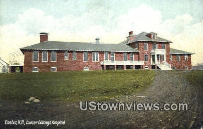 Exeter Cottage Hospital - New Hampshire NH Postcard