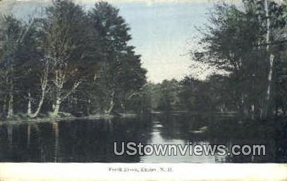Fresh River - Exeter, New Hampshire NH Postcard