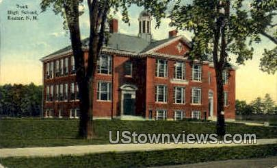 Tuck High School - Exeter, New Hampshire NH Postcard