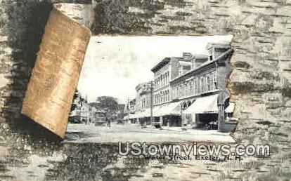 Water St. - Exeter, New Hampshire NH Postcard