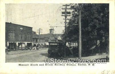 St. Railway Station - Exeter, New Hampshire NH Postcard