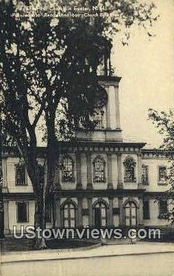 The First Church - Exeter, New Hampshire NH Postcard