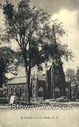 St. Michael's Church - Exeter, New Hampshire NH Postcard