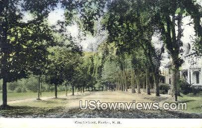Court St. - Exeter, New Hampshire NH Postcard