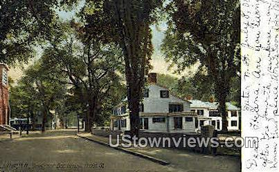 Governor Bell House - Exeter, New Hampshire NH Postcard