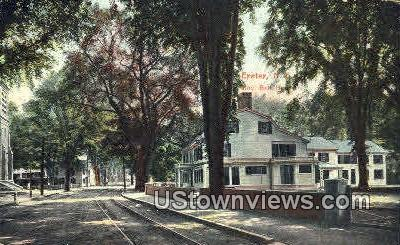 Gov. Bell House - Exeter, New Hampshire NH Postcard