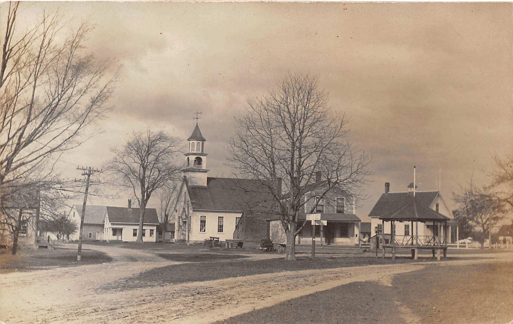 Church - Exeter, New Hampshire NH Postcard