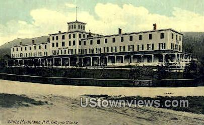 Fabyan House - White Mountains, New Hampshire NH Postcard