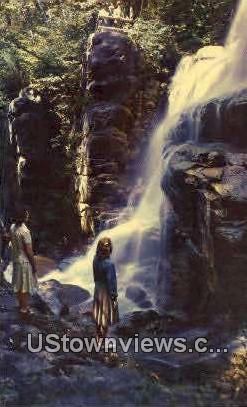 Avalanche Falls - White Mountains, New Hampshire NH Postcard