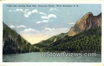 Eagle Cliff - Franconia Notch, New Hampshire NH Postcard