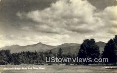 Real Photo Franconia Range - Franconia Notch, New Hampshire NH Postcard