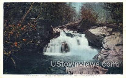 Falls - Franconia Notch, New Hampshire NH Postcard