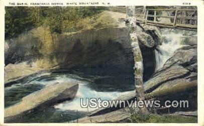 The Basin - Franconia Notch, New Hampshire NH Postcard