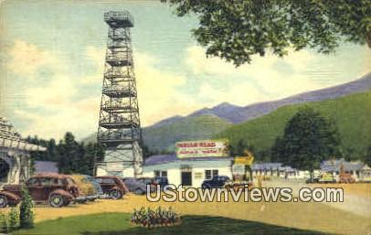 Indian Head Tower - Franconia Notch, New Hampshire NH Postcard