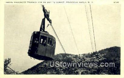 Aerial Passenger Tramway Car - Franconia Notch, New Hampshire NH Postcard