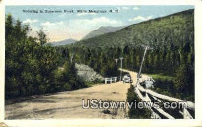 Franconia Notch, NH, New Hampshire Postcard