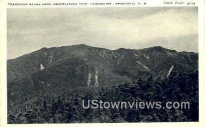 Franconia Range - Franconia Notch, New Hampshire NH Postcard