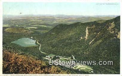 Profile House & Echo Lake - Franconia Notch, New Hampshire NH Postcard