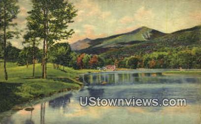 Shadow Lake - Franconia Notch, New Hampshire NH Postcard
