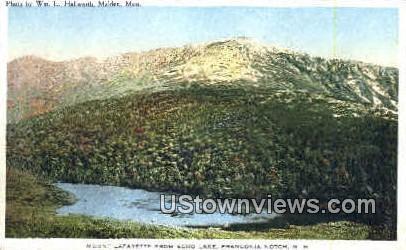 Mount Lafayette - Franconia Notch, New Hampshire NH Postcard