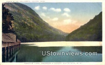 Profile Lake - Franconia Notch, New Hampshire NH Postcard