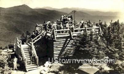 Summit Observation Platform - Franconia Notch, New Hampshire NH Postcard
