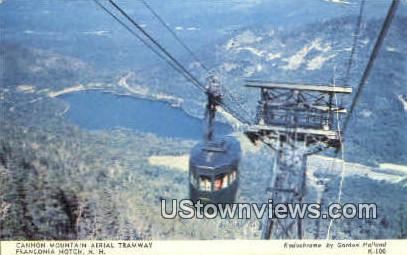 Cannon Mountain Aerial Tramway - Franconia Notch, New Hampshire NH Postcard