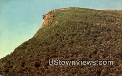 Old Man of the Mountains - Franconia Notch, New Hampshire NH Postcard