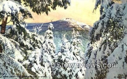 Mount Liberty - Franconia Notch, New Hampshire NH Postcard
