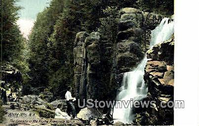 The Cascade - Franconia Notch, New Hampshire NH Postcard