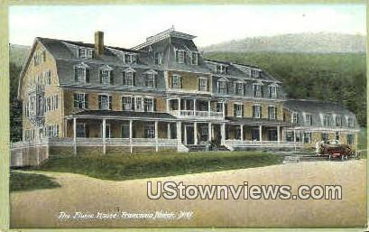 The Flume House - Franconia Notch, New Hampshire NH Postcard